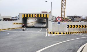 Both Underpass #2 and Ramp #4 of Chom Chao Interchange was opened to traffic